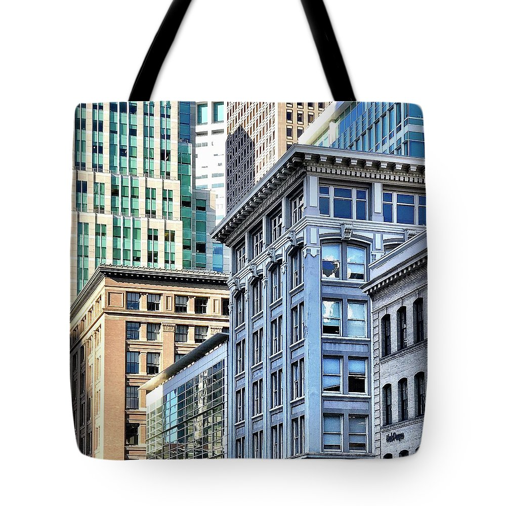 Tote Bag featuring the photograph Downtown San Francisco by Julie Gebhardt