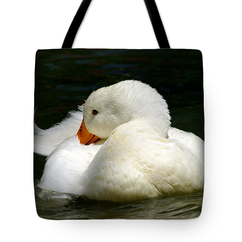 Jenny Gandert Tote Bag featuring the photograph Downy Soft by Jenny Gandert
