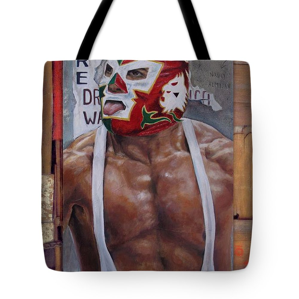 Dr. Wagner Tote Bag featuring the painting Dr Wagner by Nancy Almazan