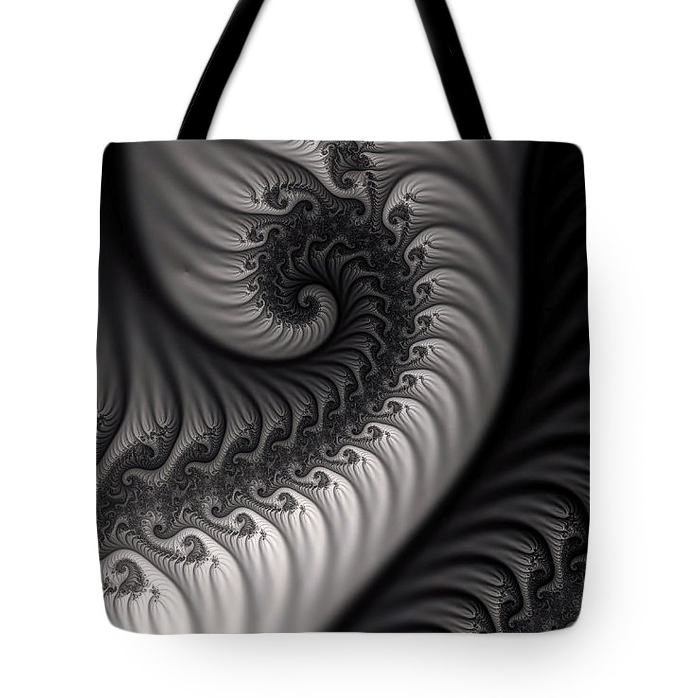 Clay Tote Bag featuring the digital art Dragon Belly by Clayton Bruster