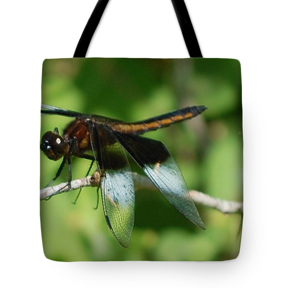 Digitall Photo Tote Bag featuring the photograph Dragon Fly by David Lane