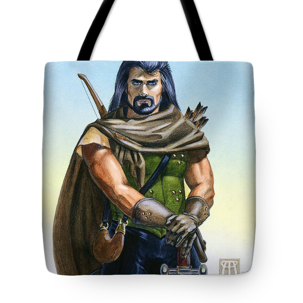 Ranger Tote Bag featuring the painting Dragon Tracker by Melissa A Benson