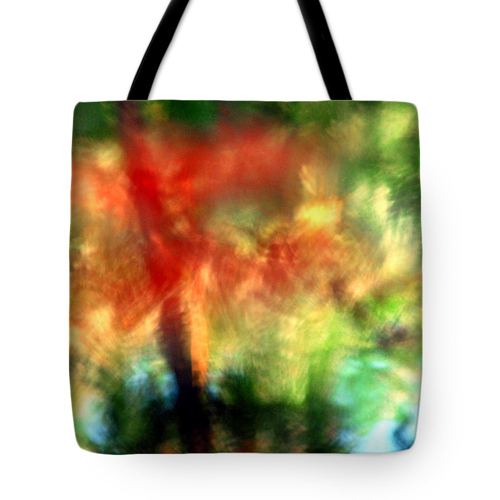 Abstract Tote Bag featuring the photograph Dragonfly by Carl Ellis