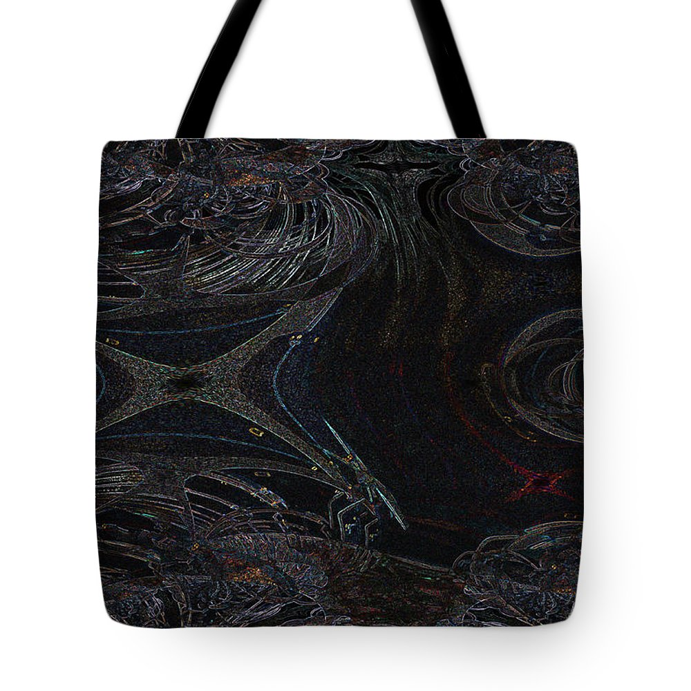 Dragonfly Bug Neon Abstract Rainbow Nature Colours Tote Bag featuring the photograph Dragonfly's Lair by Andrea Lawrence