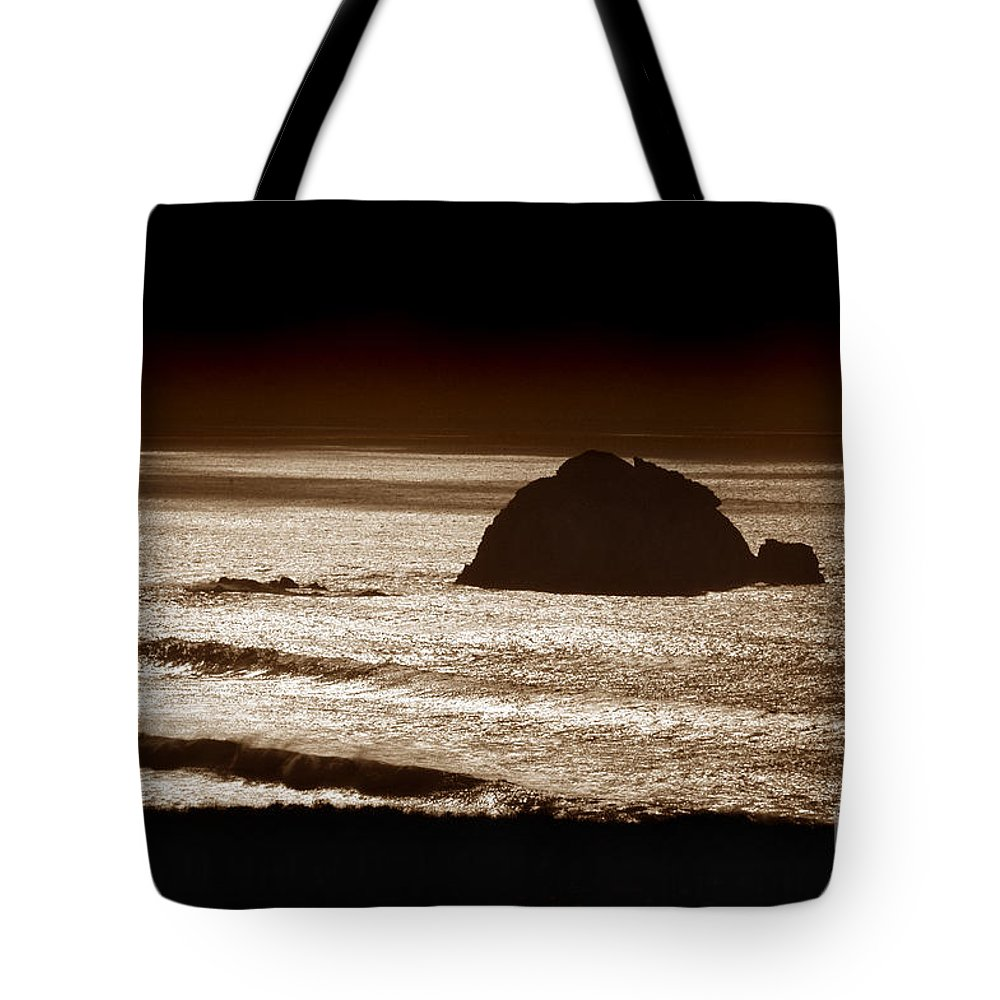 Big Sur Tote Bag featuring the photograph Drama On Big Sur by Michael Ziegler