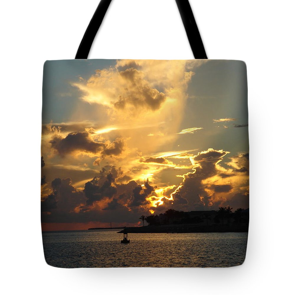 Photography Tote Bag featuring the photograph Dramatic Clouds by Susanne Van Hulst