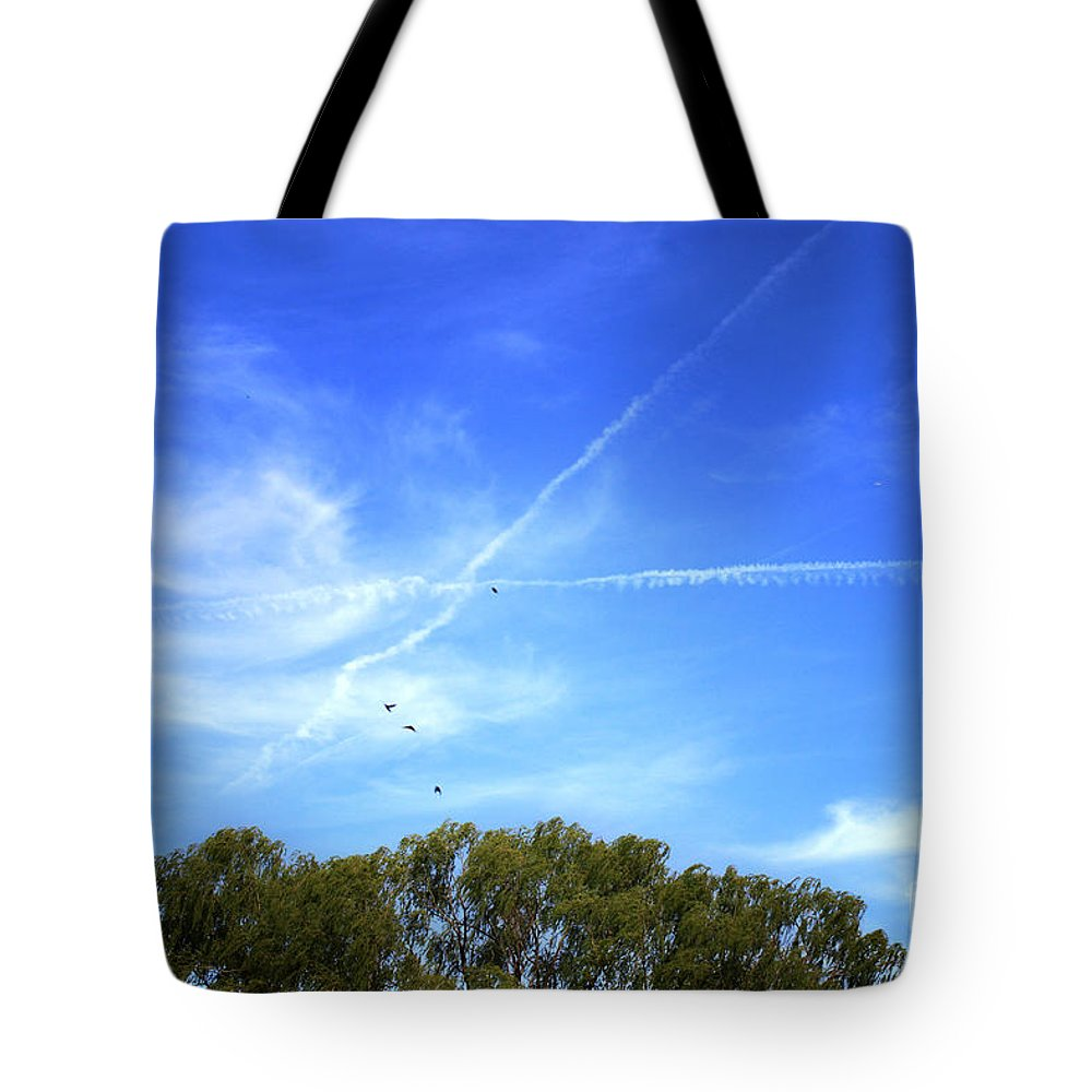 Landscape Tote Bag featuring the photograph Dramatic Sky by Todd Blanchard
