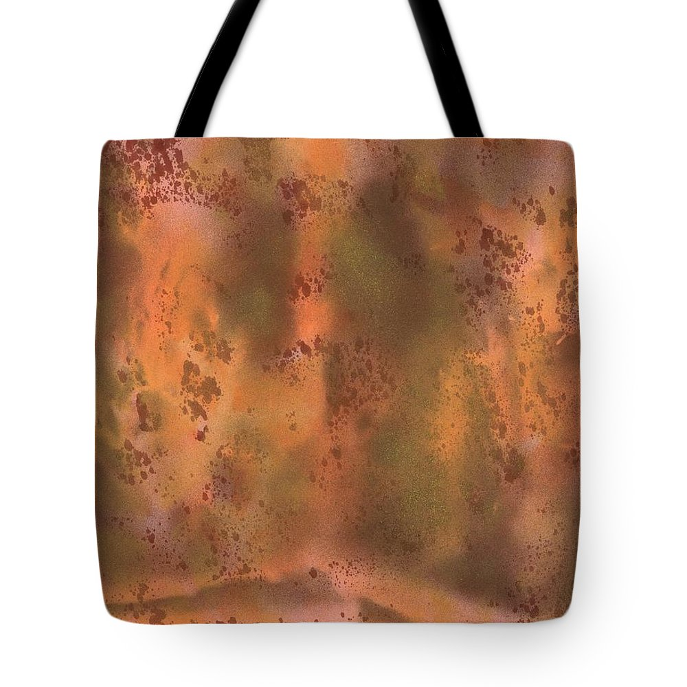Dream Existence Two Tote Bag featuring the painting Dream Existence Two by David Jacobi