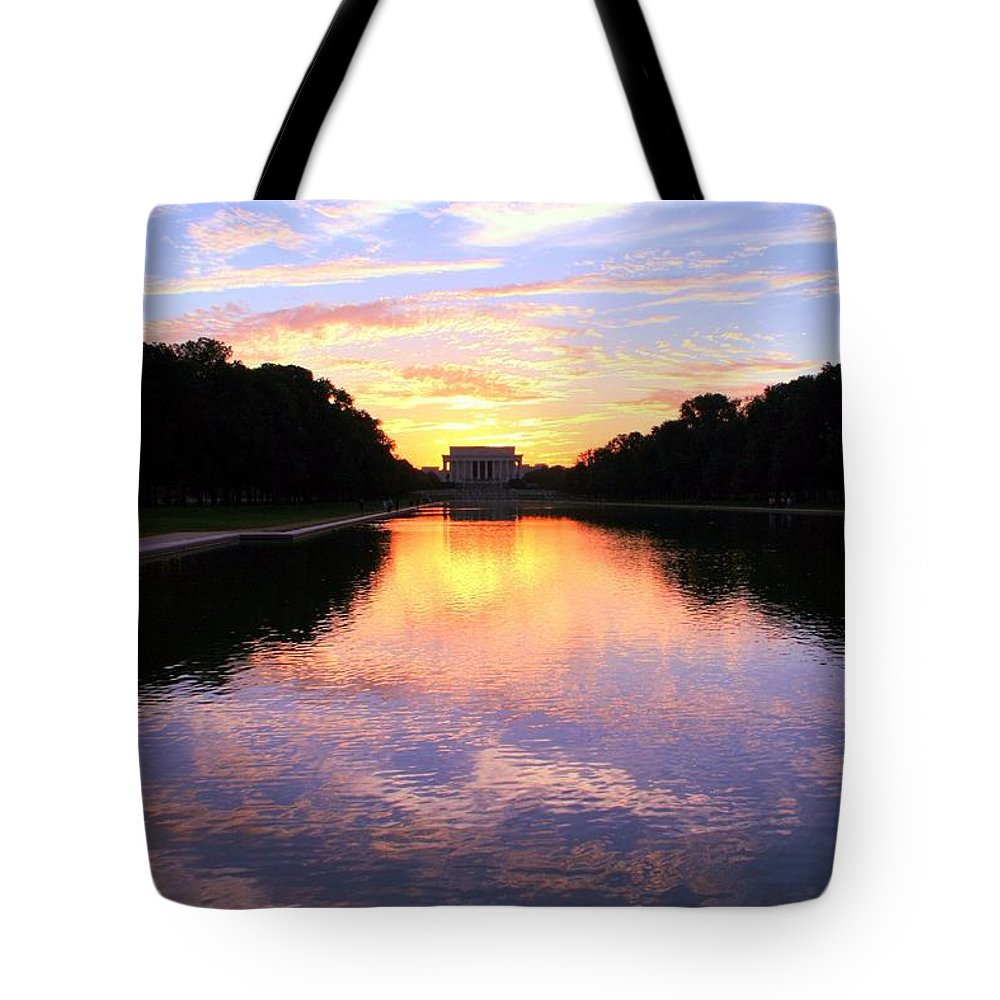 Washington D.c. Tote Bag featuring the photograph Dream by Mitch Cat