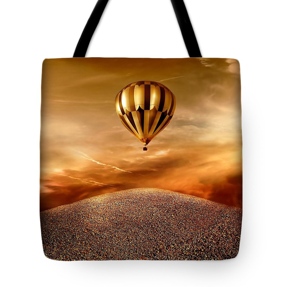 Golden Tote Bag featuring the photograph Dream by Jacky Gerritsen