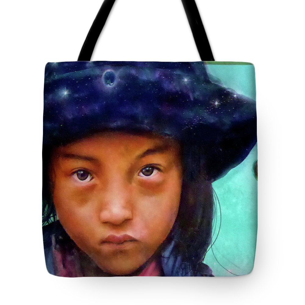 Young Boy Tote Bag featuring the photograph Dream Weaver by Dominic Piperata
