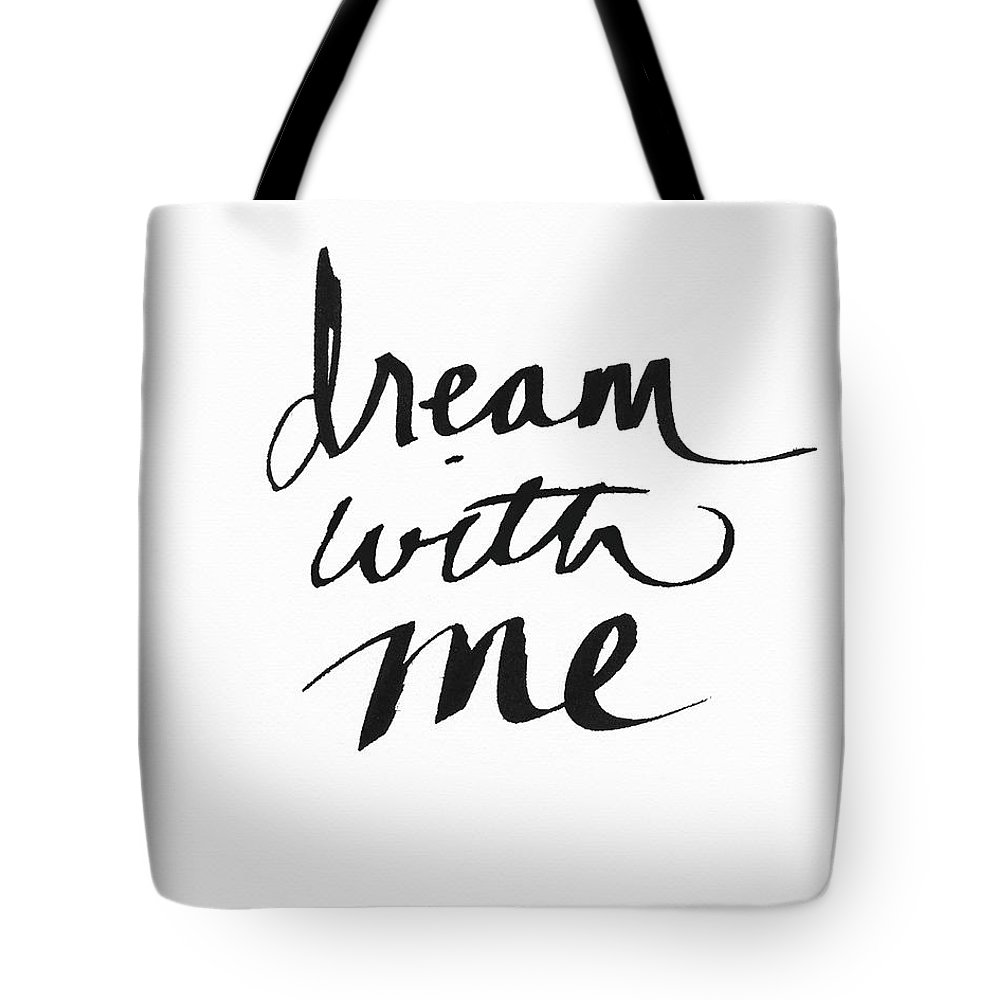 Dream Tote Bag featuring the painting Dream With Me- Art by Linda Woods by Linda Woods