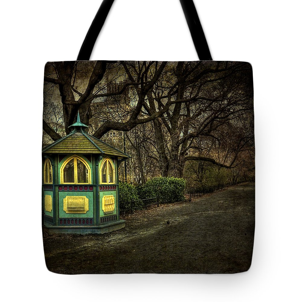 Central Park Tote Bag featuring the photograph Dreamcatcher by Evelina Kremsdorf