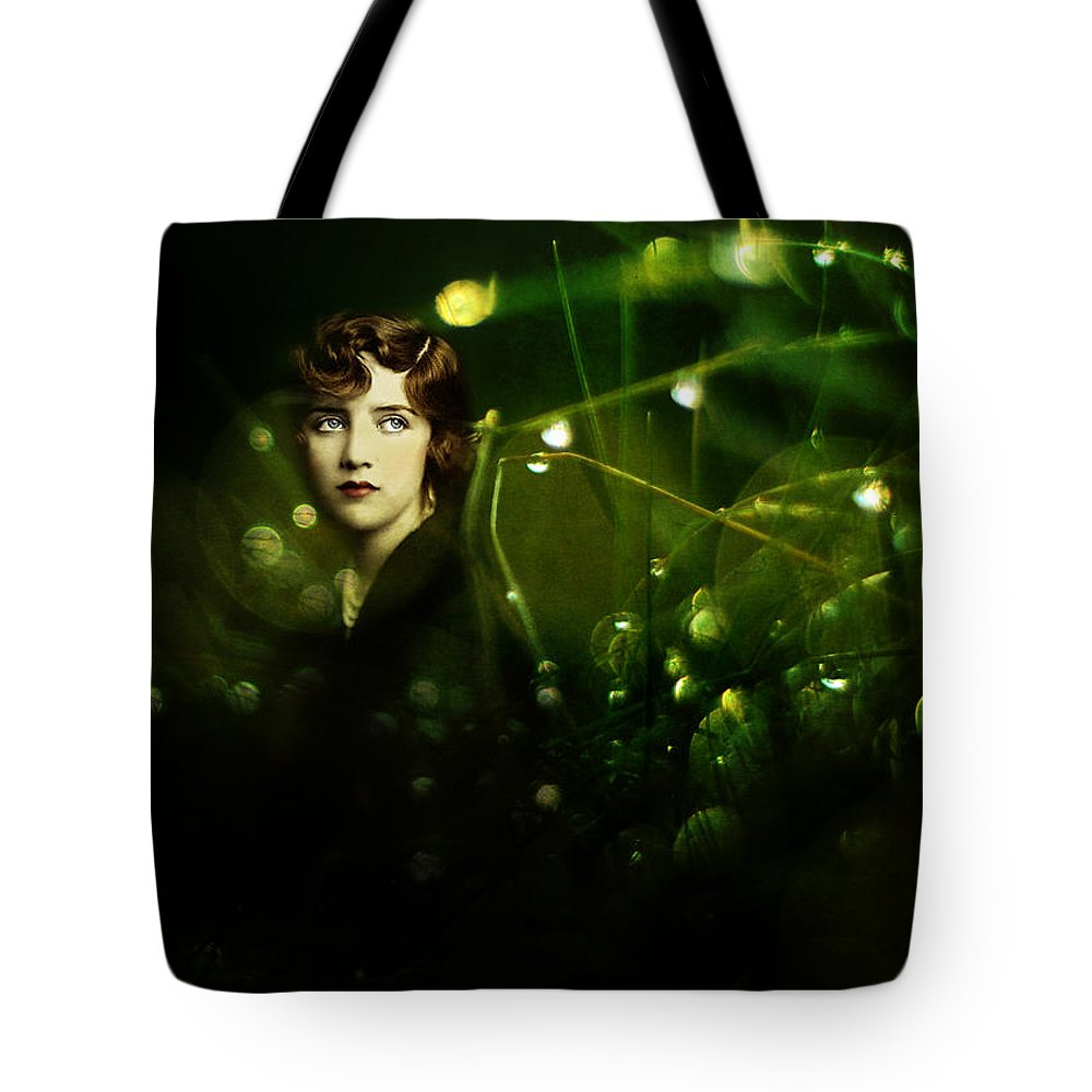 Portrait Tote Bag featuring the photograph Dreaming Again by Rebecca Sherman