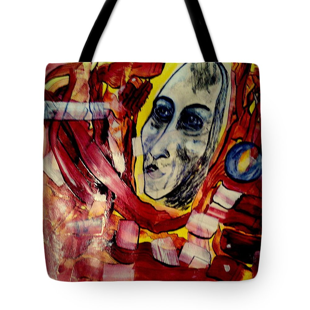 Dream Tote Bag featuring the painting Dreaming The New Europe by Daniele Fedi