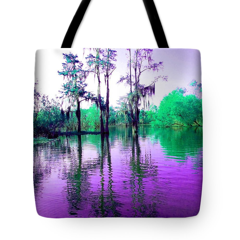 Bayou Tote Bag featuring the photograph Dreamy Bayou Sorrel by Gina Welch