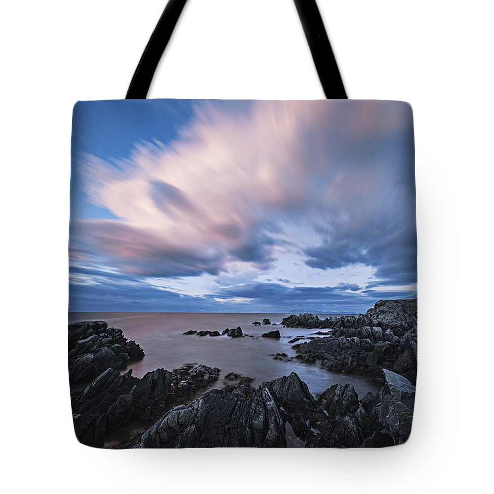 Frank Olsen Tote Bag featuring the photograph Drifting Clouds II by Frank Olsen