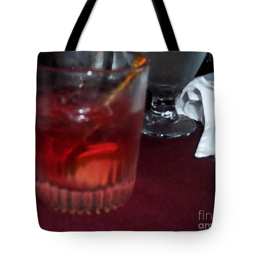 Drinks Tote Bag featuring the photograph Drink Up by Debbi Granruth
