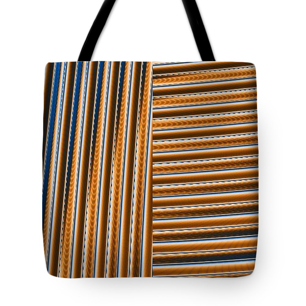 Digital Art Tote Bag featuring the digital art Duality I by Dragica Micki Fortuna