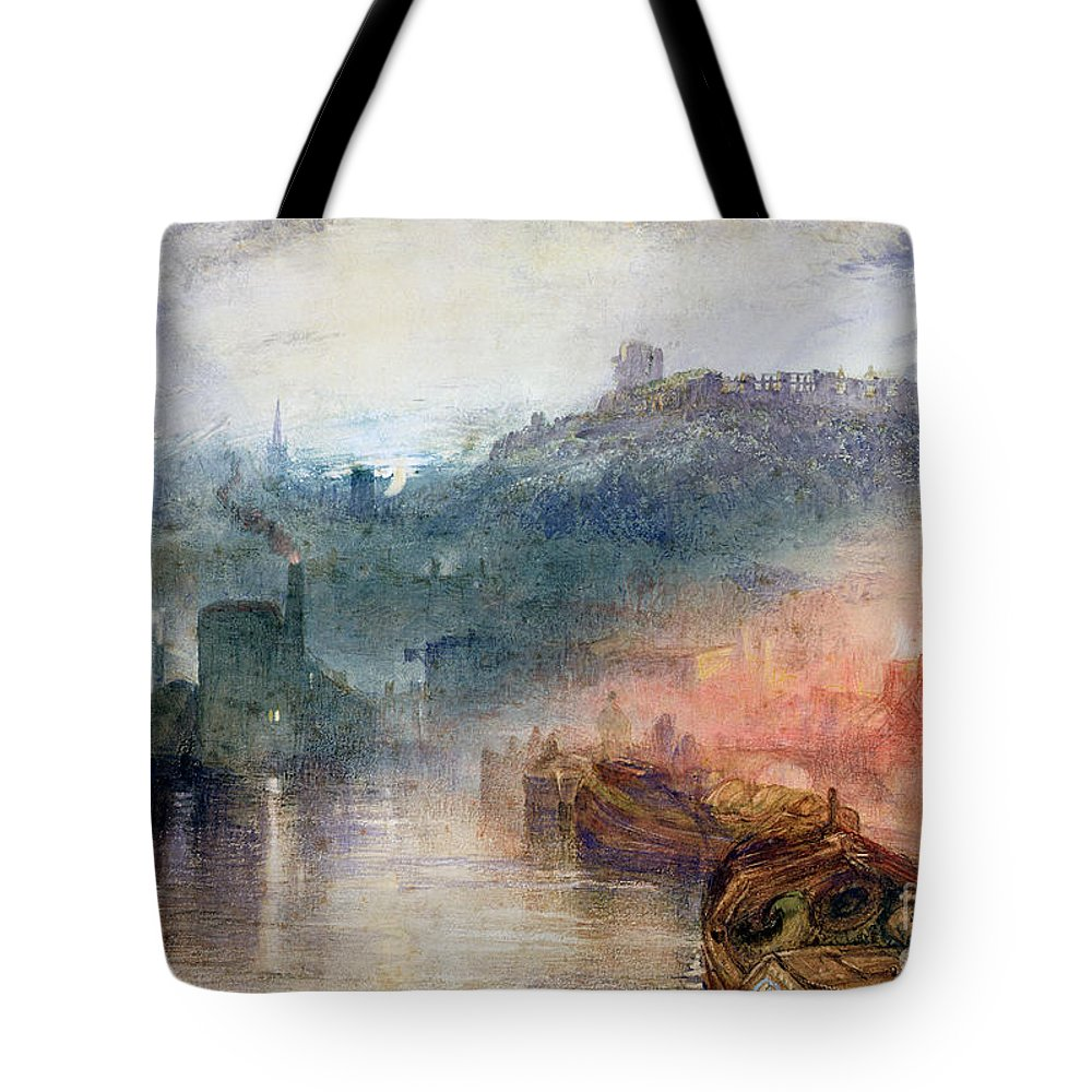 Dudley Tote Bag featuring the painting Dudley by Joseph Mallord William Turner