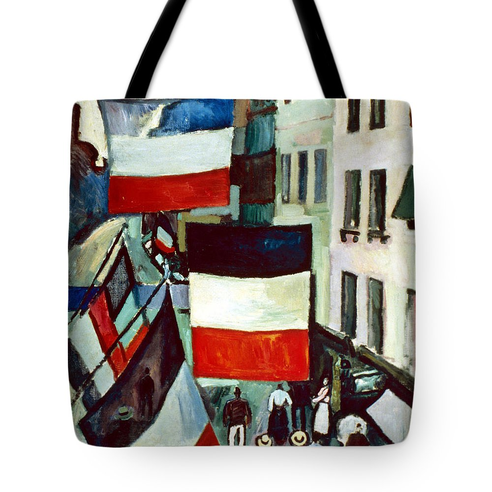 1906 Tote Bag featuring the photograph Dufy: Flags, 1906 by Granger