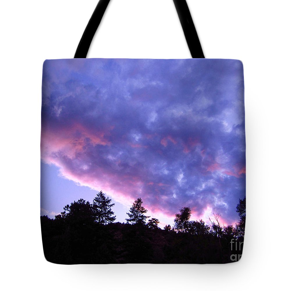 Dusk Tote Bag featuring the photograph Dusk At Glen Haven Co by Kimberly Noxon
