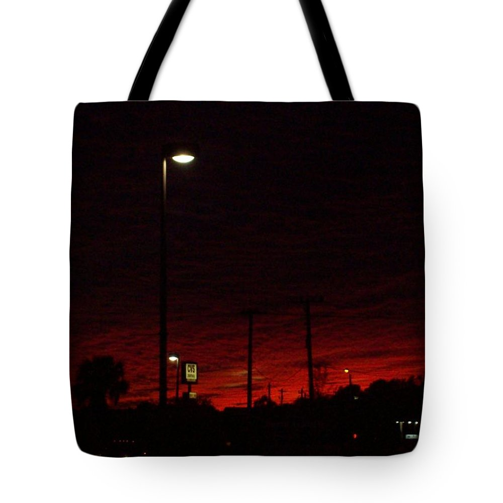 Night Tote Bag featuring the photograph Dusk Heading Home by Christine Ullmann