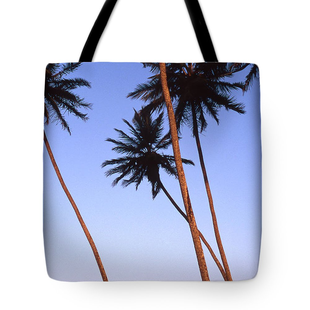 Bahia Tote Bag featuring the photograph Dusk In Morro by Patrick Klauss