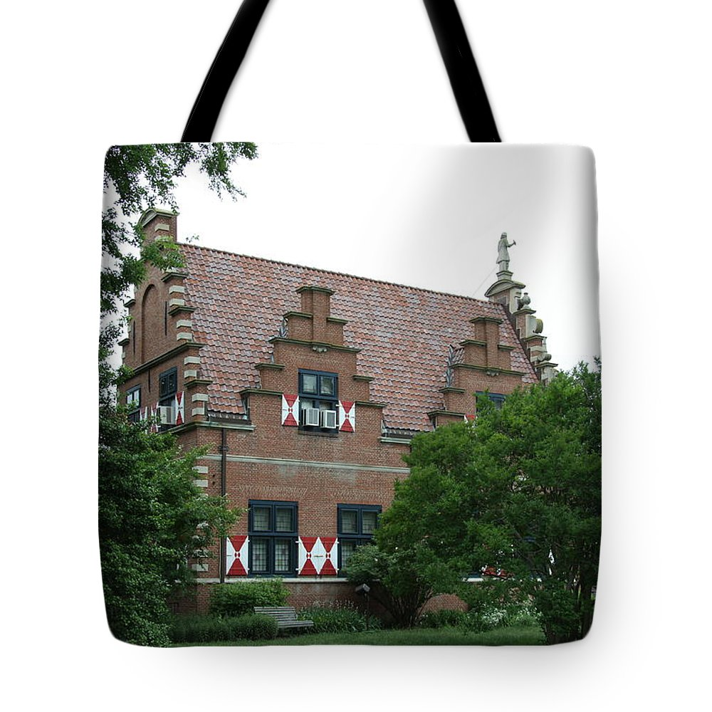Dutch Tote Bag featuring the photograph Dutch Building - Henlopen by Christiane Schulze Art And Photography