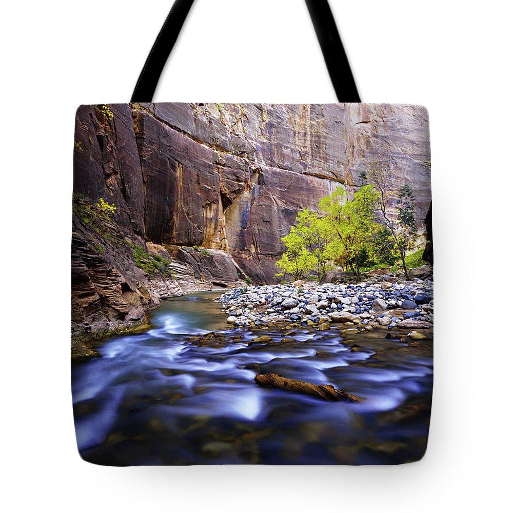 Virgin River Tote Bags