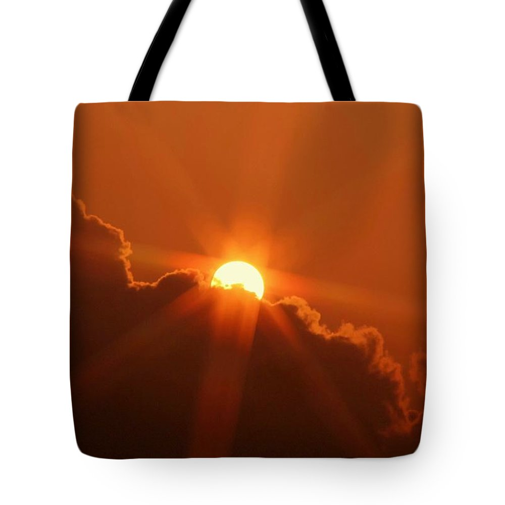 Sunset Tote Bag featuring the photograph Each Day by Mitch Cat