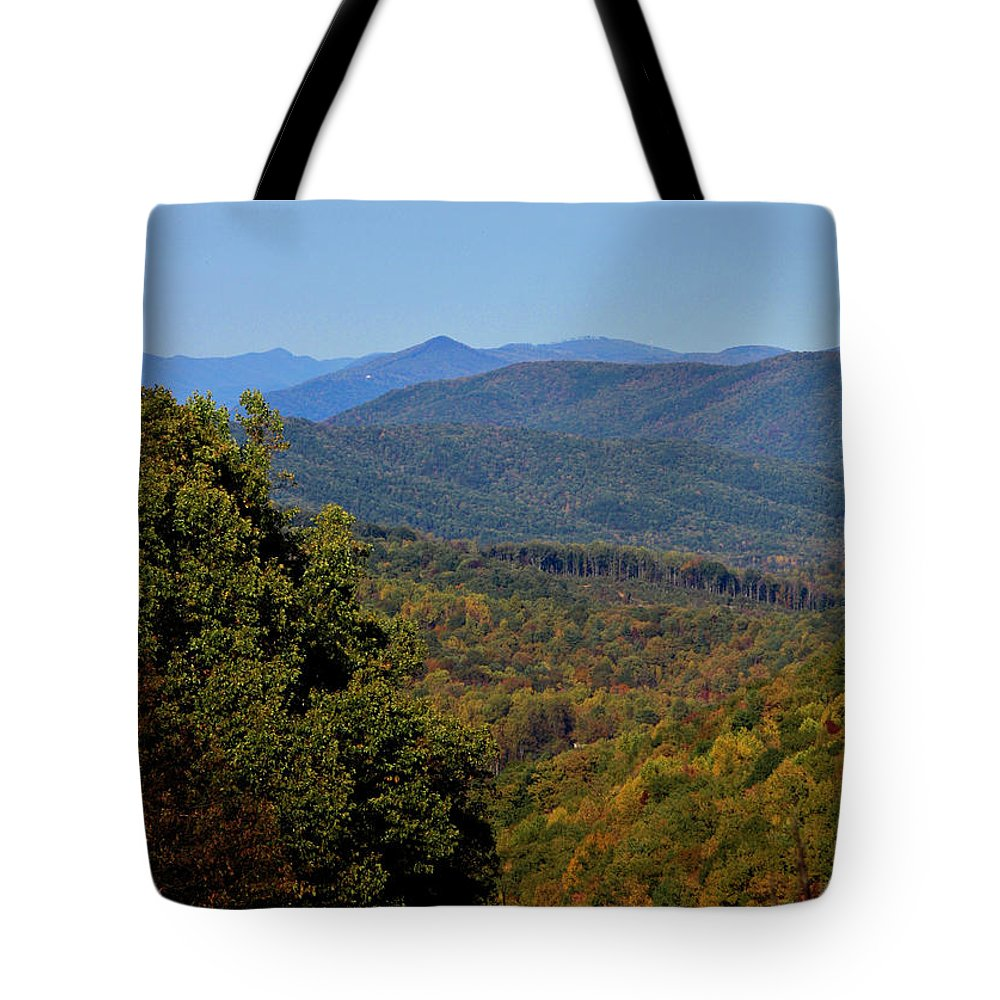 Fall Tote Bag featuring the photograph Early Fall In Virginia by Teresa Mucha