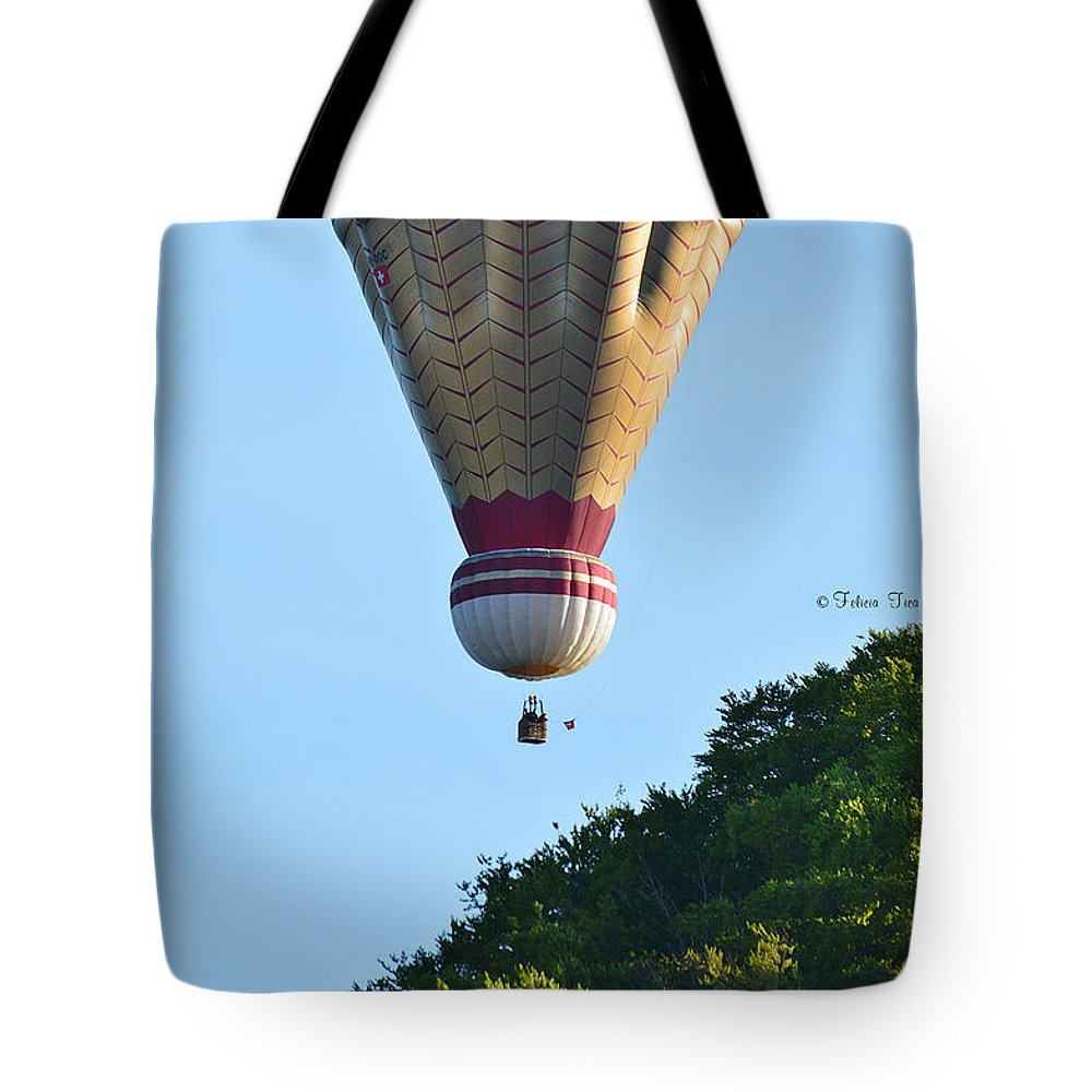 Hot Tote Bag featuring the photograph Early In The Morning by Felicia Tica