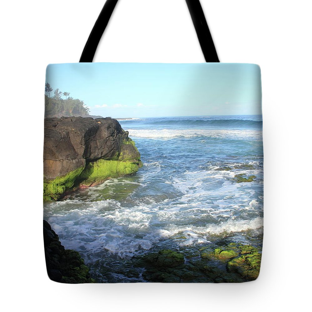 Ocean Tote Bag featuring the photograph Early Morning Pacific by Mary Haber
