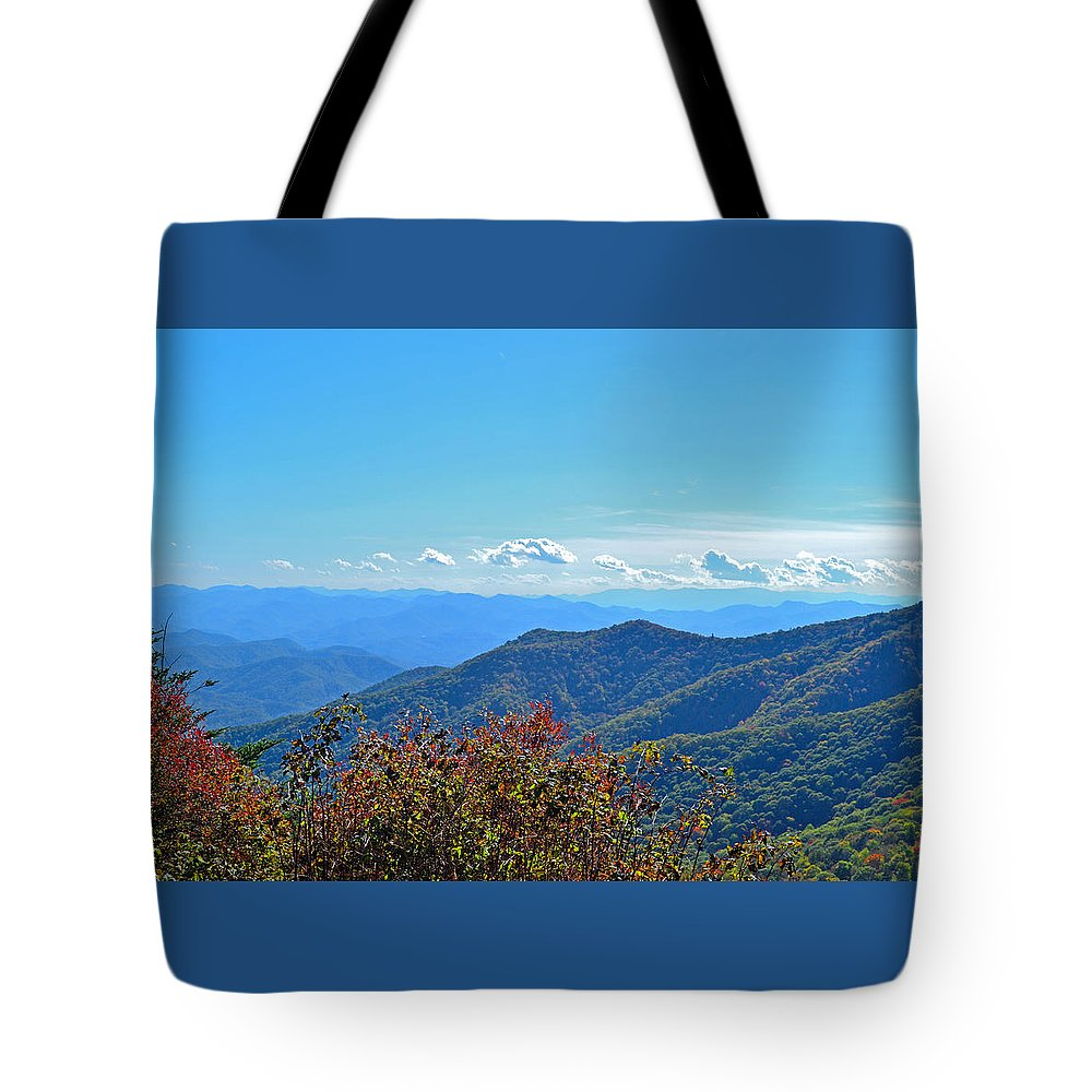 Mountain Tote Bag featuring the photograph Early Mountain Autumn by James Fowler