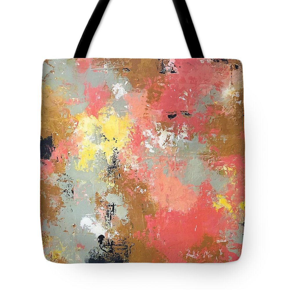 Tote Bag featuring the painting Early Spring by Suzzanna Frank