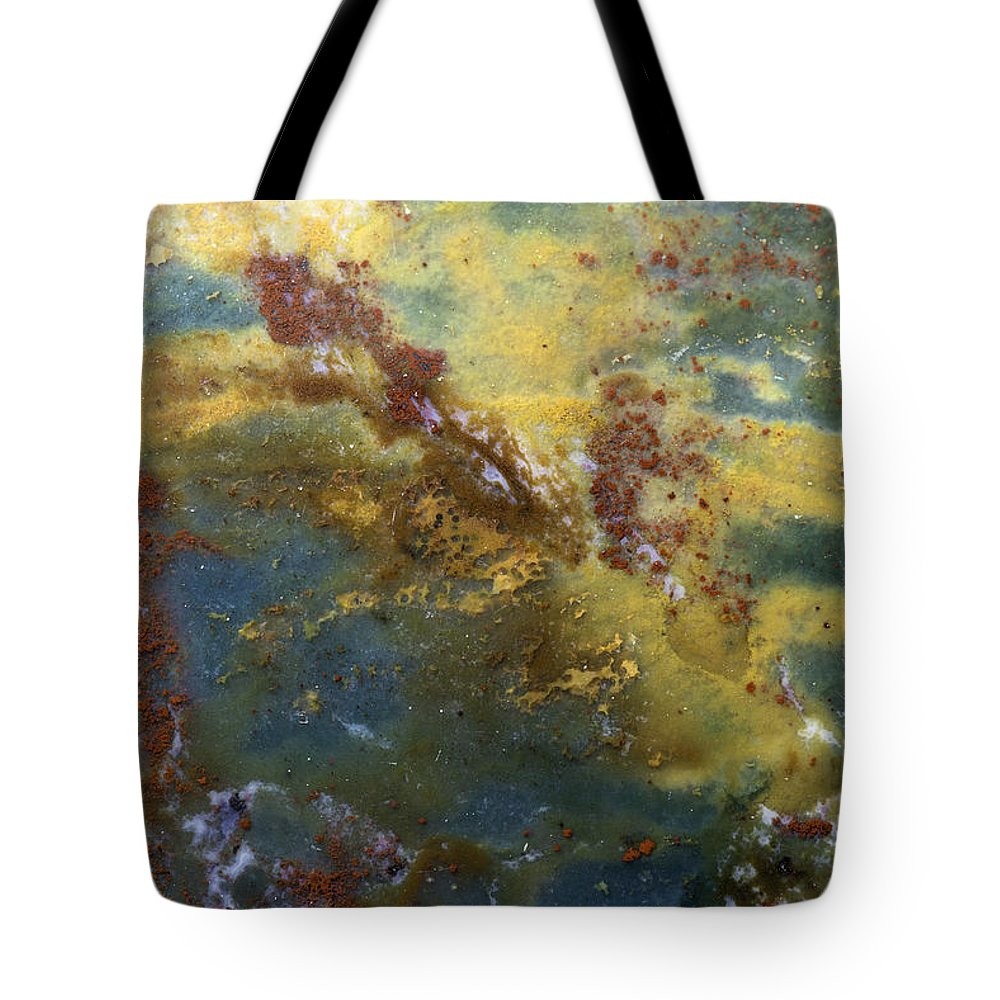 Macro Tote Bag featuring the photograph Earth Portrait 008 by David Waldrop