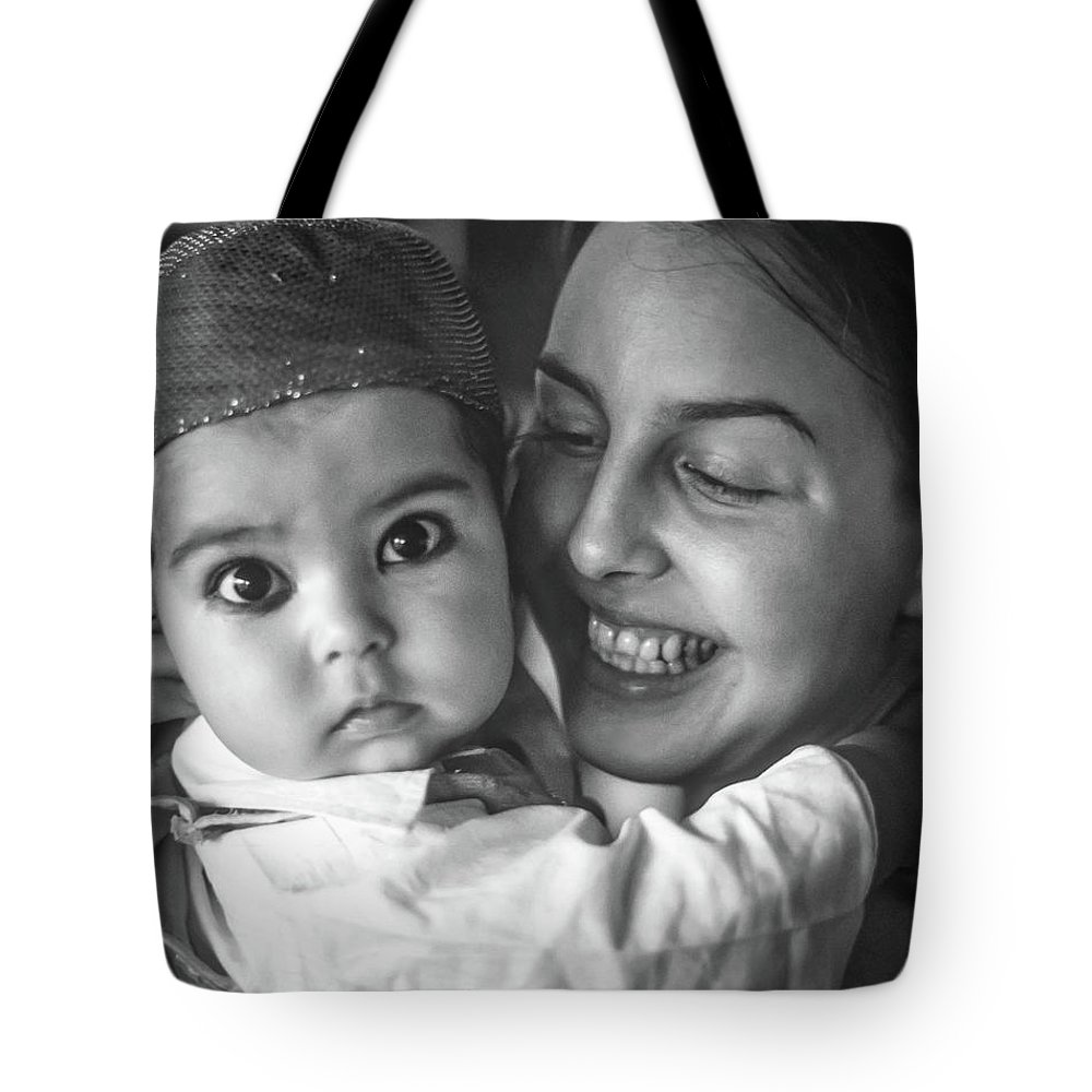 India Tote Bag featuring the photograph East Meets West Monochrome by Steve Harrington