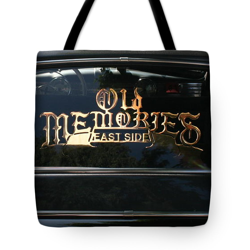Photograph Tote Bag featuring the photograph East Side by Gwyn Newcombe