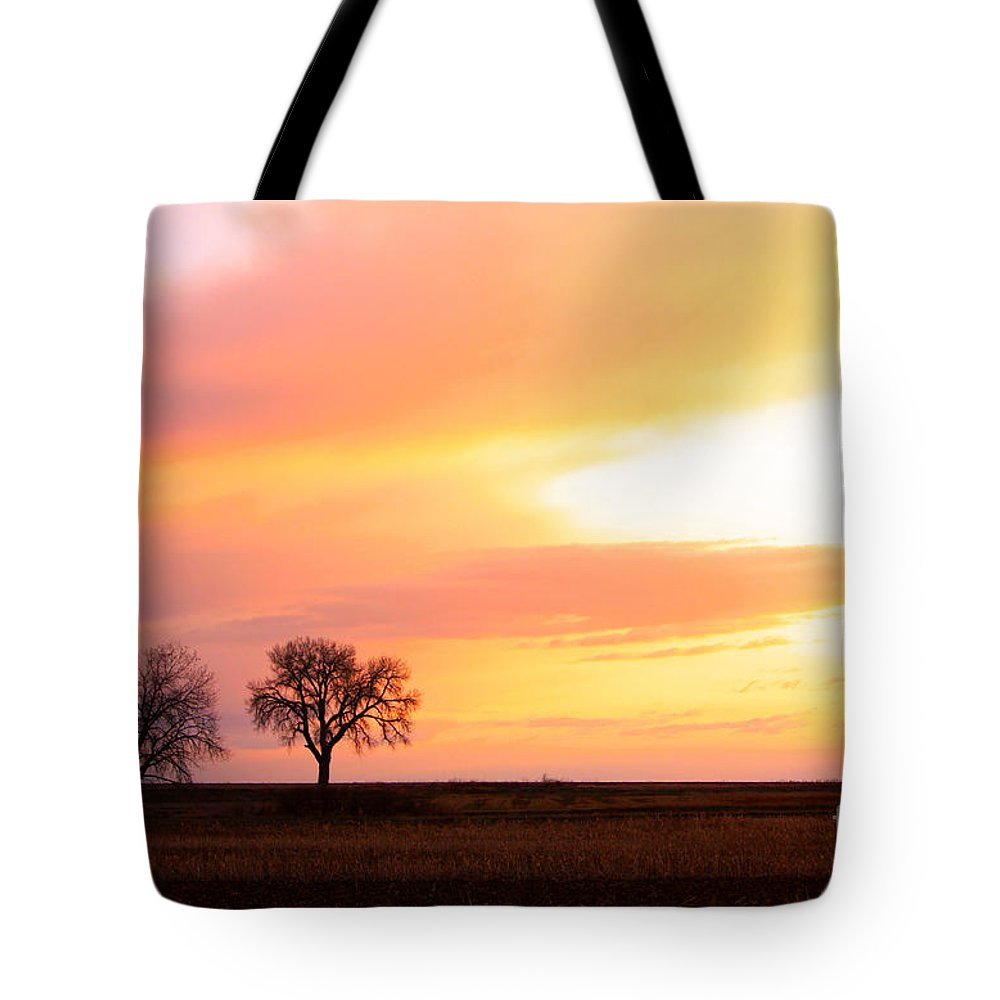 Sunrise Tote Bag featuring the photograph Easter Morning Sunrise by James BO Insogna
