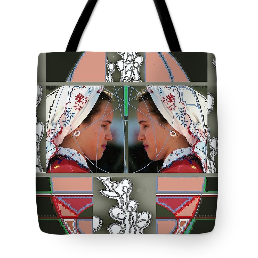 Easter Folklor Tote Bag featuring the photograph Easter Time by Andrew Drozdowicz