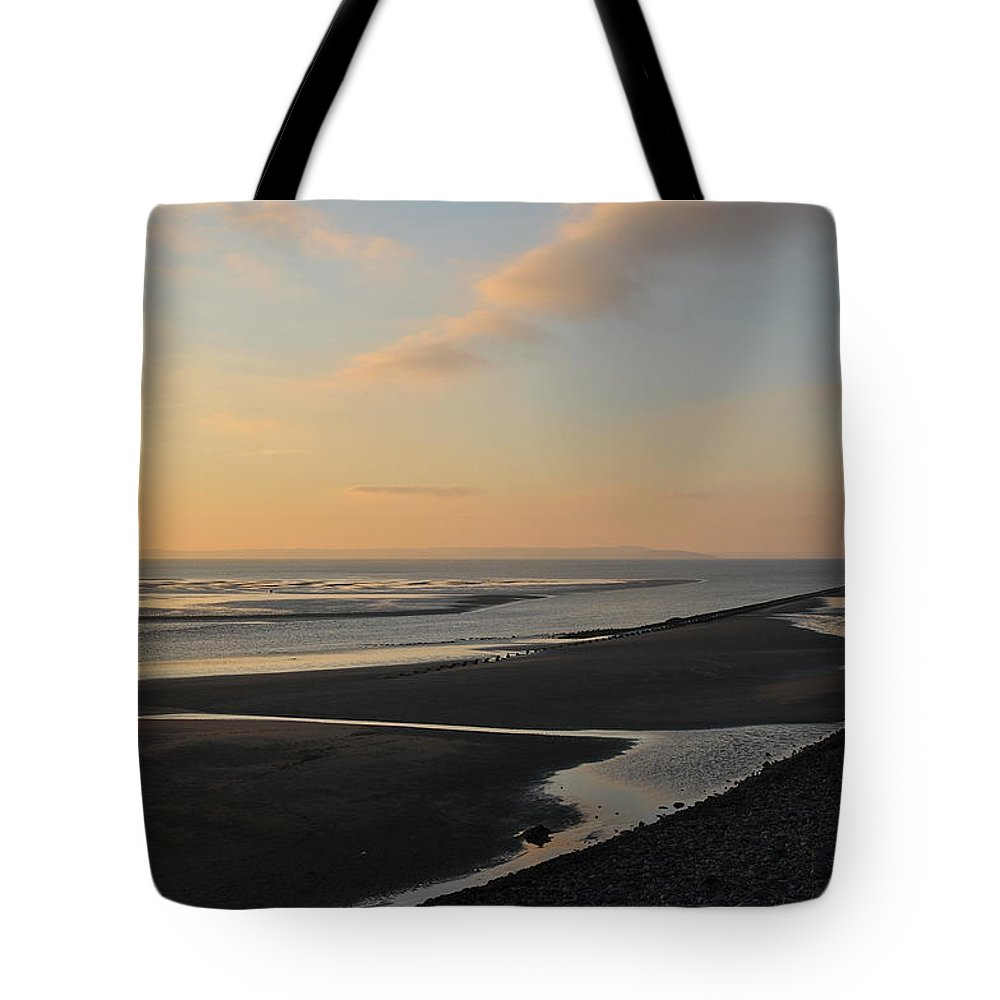 Beach Tote Bag featuring the photograph Echo by Harry Robertson