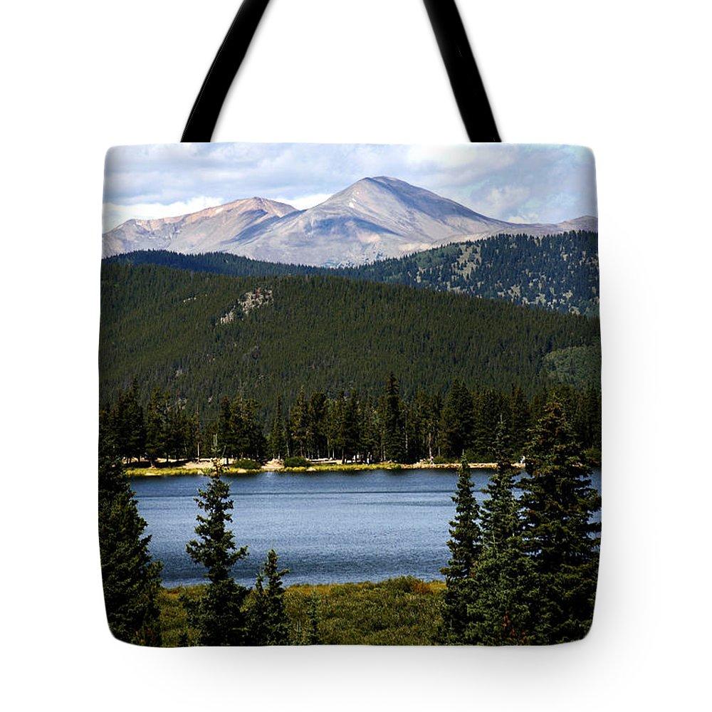 Colorado Tote Bag featuring the photograph Echo Lake Colorado by Marilyn Hunt