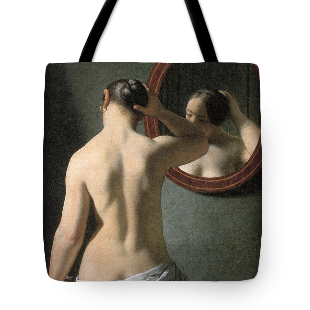 1837 Tote Bag featuring the photograph Eckersberg: Nude, C1837 by Granger