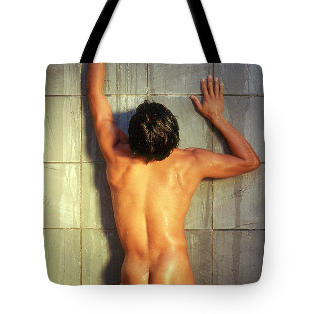 Male Tote Bag featuring the photograph Eddie M. 1 by Andy Shomock