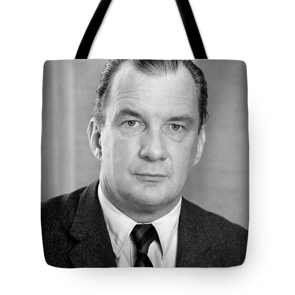 1970 Tote Bag featuring the photograph Edward Bennett Williams by Granger