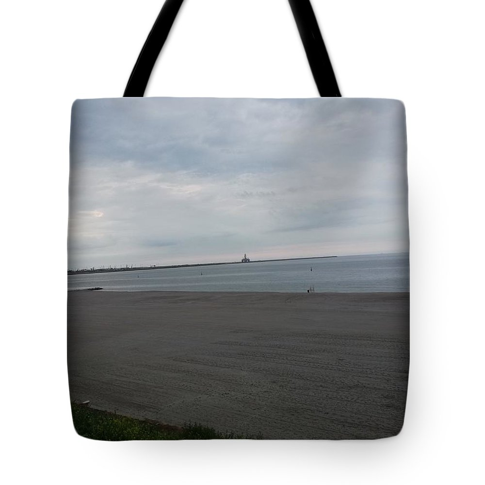 Tote Bag featuring the photograph Eforie Nord Beach, Romania by Daniela Buciu