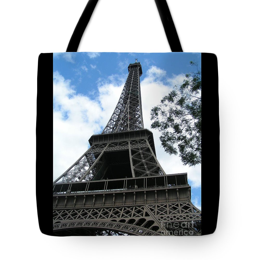 Eiffel Tower Tote Bag featuring the photograph Eiffel Tower 2 by Karen Granado