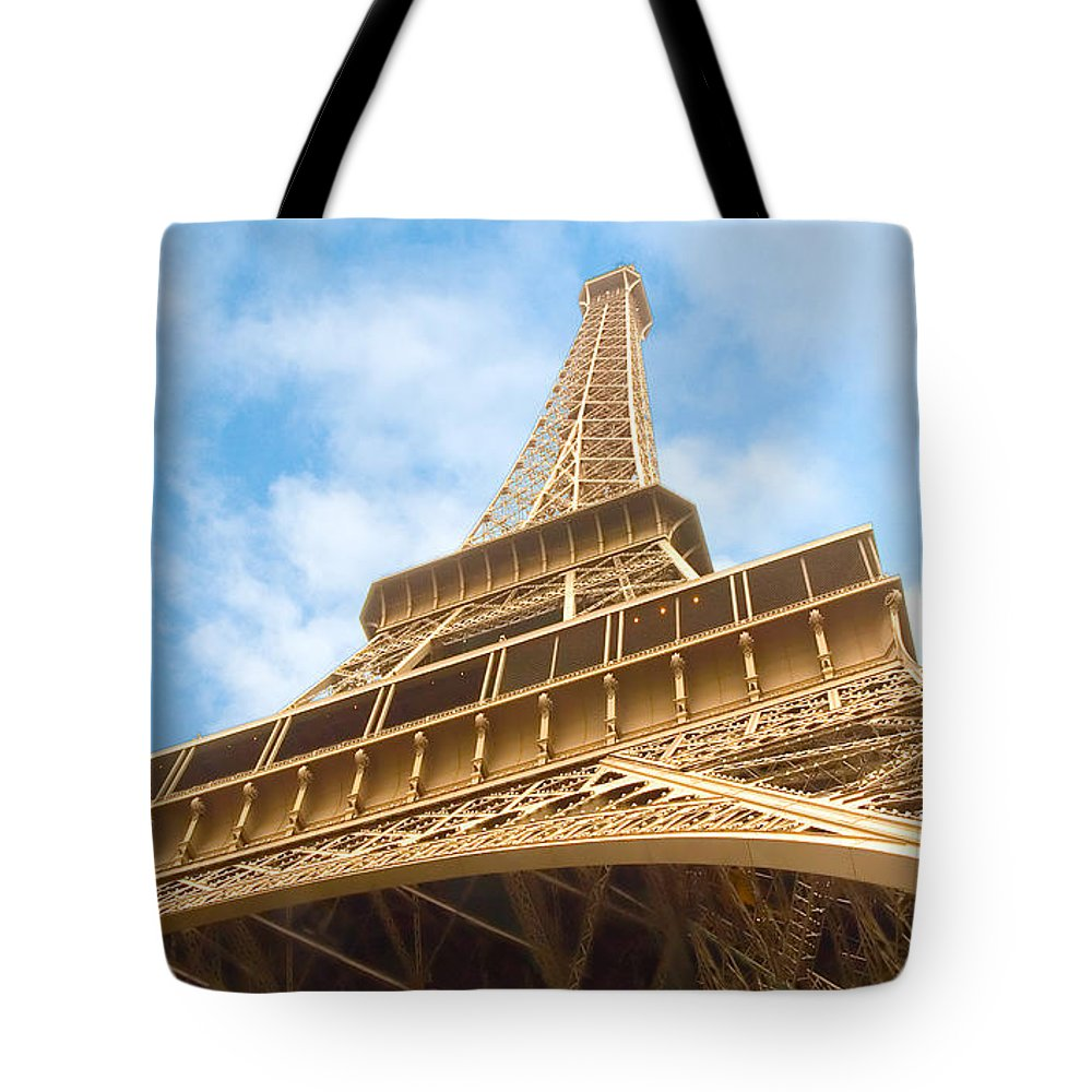 Eiffel Tower Tote Bag featuring the photograph Eiffel Tower by Mick Burkey