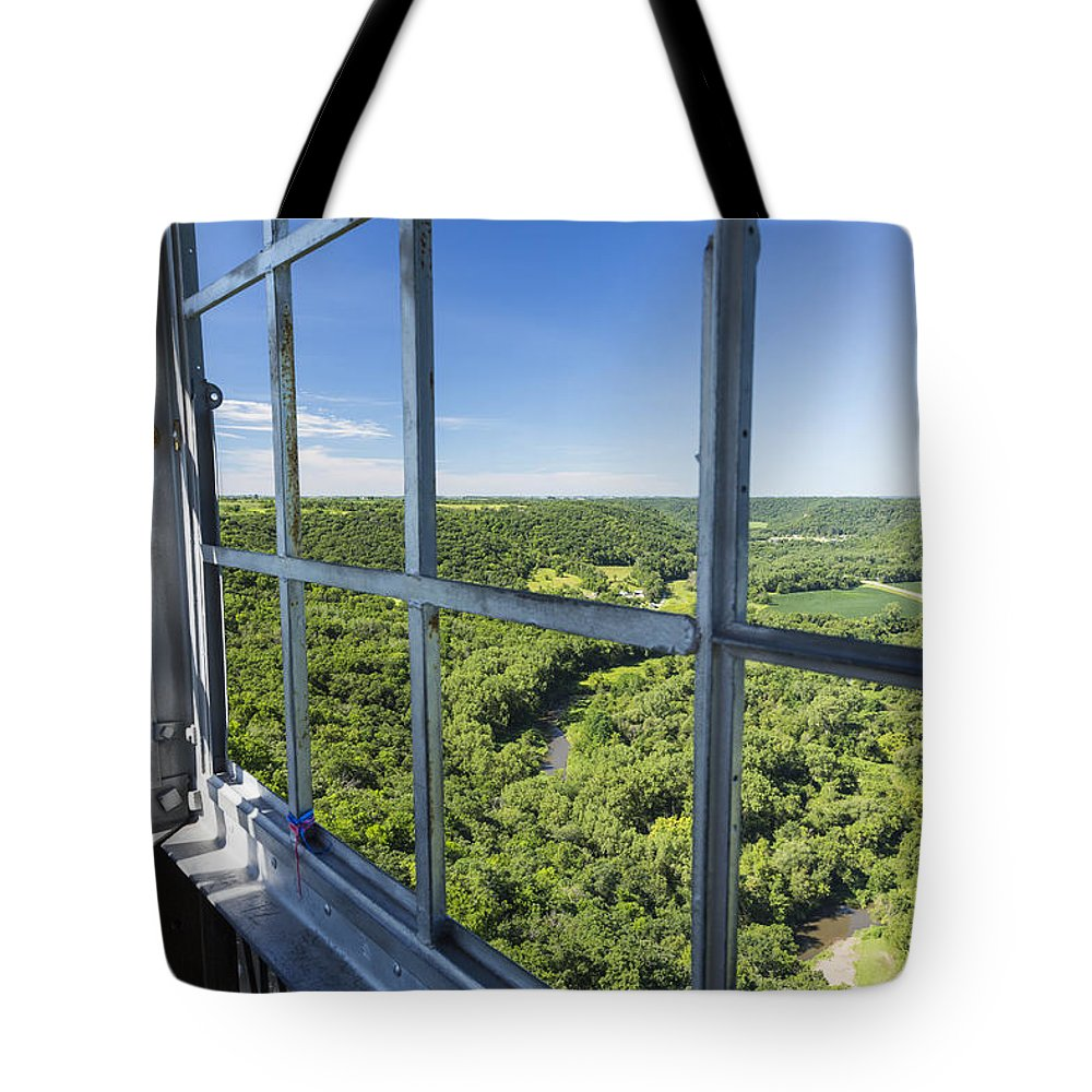 Fire Towers For Sale Elba Fire Tower View 1 Tote Bag For Sale By John Brueske